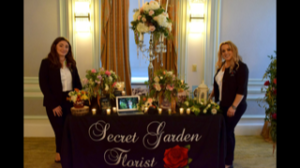Secret Garden Florist wedding booth